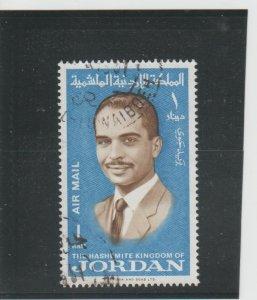 Jordan  Scott#  C45  Used  (1966 King Hussein)