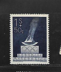 AUSTRIA, B224, MINT NEVER HINGED, OLYMPIC FLAME AND EMBLEM
