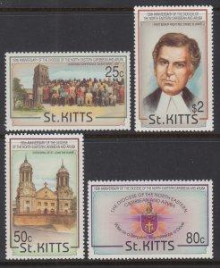 St Kitts 356-359 MNH VF