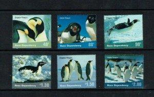 Ross Dependency: 2001, Penguins, MNH set