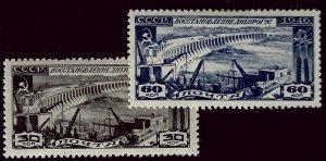 Russia SC#1085-1086 Mint VF hr...Worth a Close Look!!