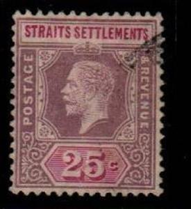 Straits Settlements Scott 194a Used (Catalog Value $80.00)