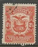 PANAMA 199 VFU ARMS Z1044