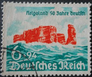 Germany 1940 Helgoland 50 years Michel 750 used