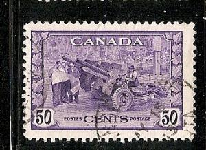 Canada Used With cds Scott cat.# 261