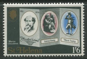 STAMP STATION PERTH St Helena #234 Charles Dickens 1970 MNH