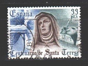 Spain. 1982. 2560. Theresa of Avila. USED.