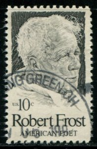 1526 US 10c Robert Frost, used