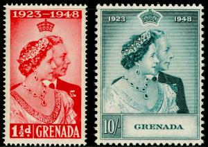 GRENADA SG166-167, COMPLETE SET, NH MINT. Cat £24. RSW.