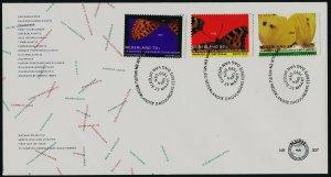 Netherlands 830-2 on FDC - Butterflies