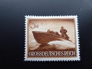 1944 Germany Gross Deutsches Reich Semi-Postal  Sc. B 257