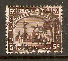 Malaya-Selangor   #48  used  (1935)