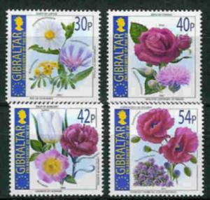 Gibraltar 2003 Scott 946-949 Enlargeing the E.U. MNH