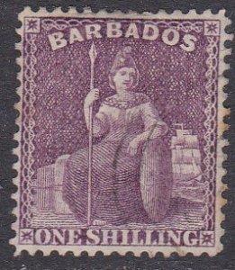 Barbados Sc #56 Used; Mi #30C