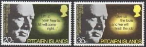 Pitcairn Islands 1974 Birth Centenary of Sir Winston Churchill MNH