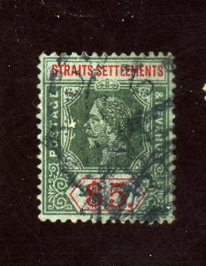 STRAIGHTS SETTLEMENTS #167 USED F-VF Cat $85