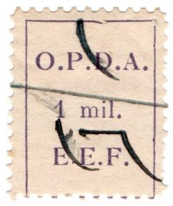 (I.B) Palestine Revenue : Ottoman Public Debt 1m (OPDA)