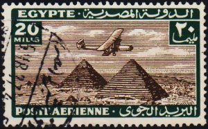Egypt. 1933 20m S.G.204 Fine Used