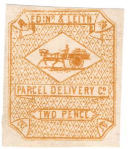 (I.B) Cinderella Collection : Circular Delivery Company (Edinburgh & Leith 2d)