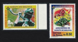 Bolivia Centenary of World Scouting 2v SG#1764-1765