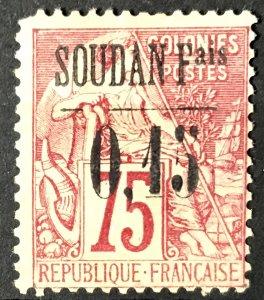 French Sudan #1 Mint CV$4600.00 Dubois Commerce