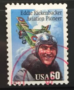 US #2998 Used F/VF - Eddie Rickenbacker Aviation Pioneer 60c