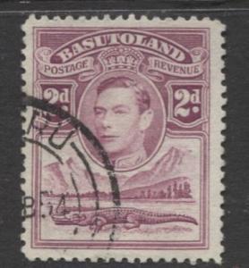 Basutoland - Scott 21 - KGVI-Definitive Issue -1938 - Used - Single 2d Stamp