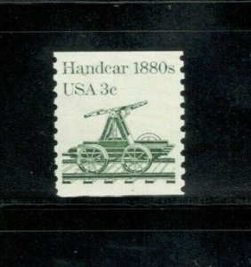 1898 Handcar Single Mint/nh (Free Shipping)