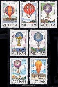 Vietnam Scott 2620-2626 Mint never hinged.