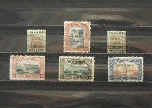 5628   Br Guiana   Used # 148, 149, 152, 157, 158, 159       CV$ 11.90