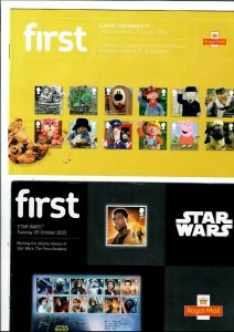 GB FIRST PAMPHLETS STAR WARS AND CHILDREN'S TV