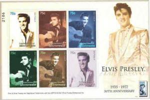 Micronesia - Elvis Presley on Stamps Sheet of 6 MIC0709