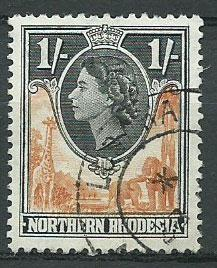 Northern Rhodesia  SG 70 Fine Used