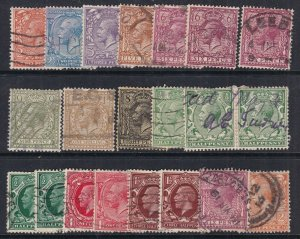 GREAT BRITAIN^^^sc# 167//195  used   collection GEO V  $60.30@@;lar2023gb333