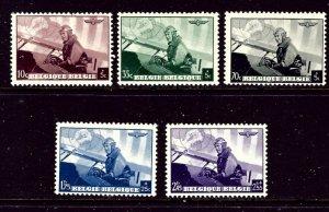 Belgium B209-13 MH 1938 King Leopold    (ap4345)