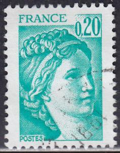 France 1565 USED 1978 Sabine 20c