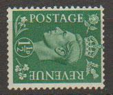 GB George VI  SG 505a wmk sideways unmounted mint