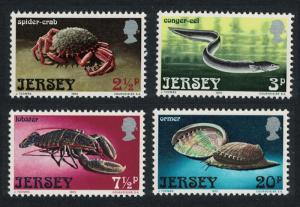 Jersey Crab Eel Lobster Shells Marine Life 4v SG#99-102