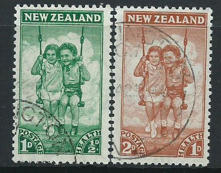 New Zealand SG 634 & SG 635   Very Fine Used