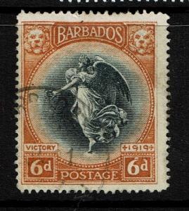 Barbados SG# 208, Used, Hinge Remnant - S4887