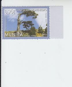 2015 Montenegro Nature Protection  (Scott 384) MNH
