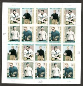 3808-11 Early Football Heroes Sheet Of 20 Mint/nh