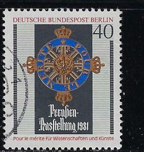 Germany Berlin Scott # 9N464, used
