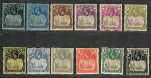 Ascension Sc#10-21 M/H/VF, Complete Set, Cv. $436.25