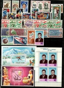 Niger - Collection of Mint NH sets and S/S (Catalog Value $64.40) [TD22]