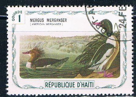 Haiti  Used Duck cancel on UR (H0036)