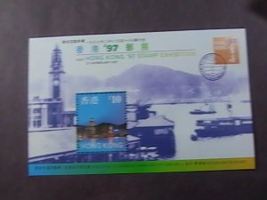 HONG KONG # 776a--MINT/NEVER HINGED---SOUVENIR SHEET---1997