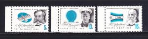 Russia 2772-2774 Set MNH Aviation Pioneers (A)