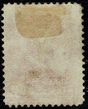 CANADA QV 1893 20c VERMILION MINT UNUSED(MH) SG115 Wmk.none P.12 VGC