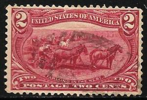 United States 1898 Scott # 286 Used